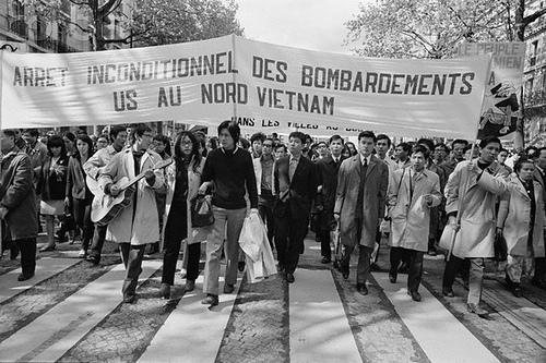 01 May 1968, Paris, France --- 1968 May Day Demonstration --- Image by © Jack Burlot/Apis/Sygma/Corbis